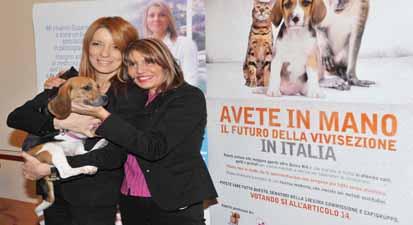 michela_vittoria_brambilla_susanna_penco_campagna_no_alla_sperimentaziona_animale