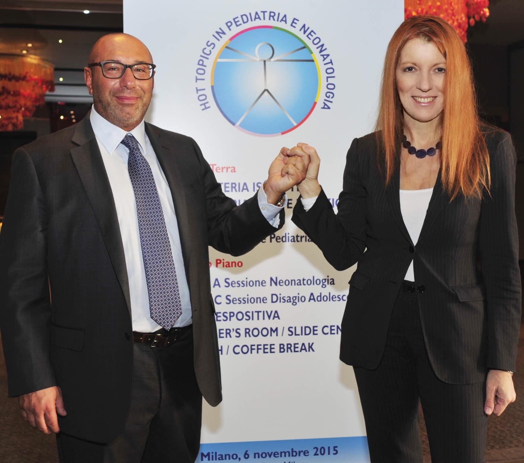 on. Michela Vittoria Brambilla con il prof. Luca Bernardo