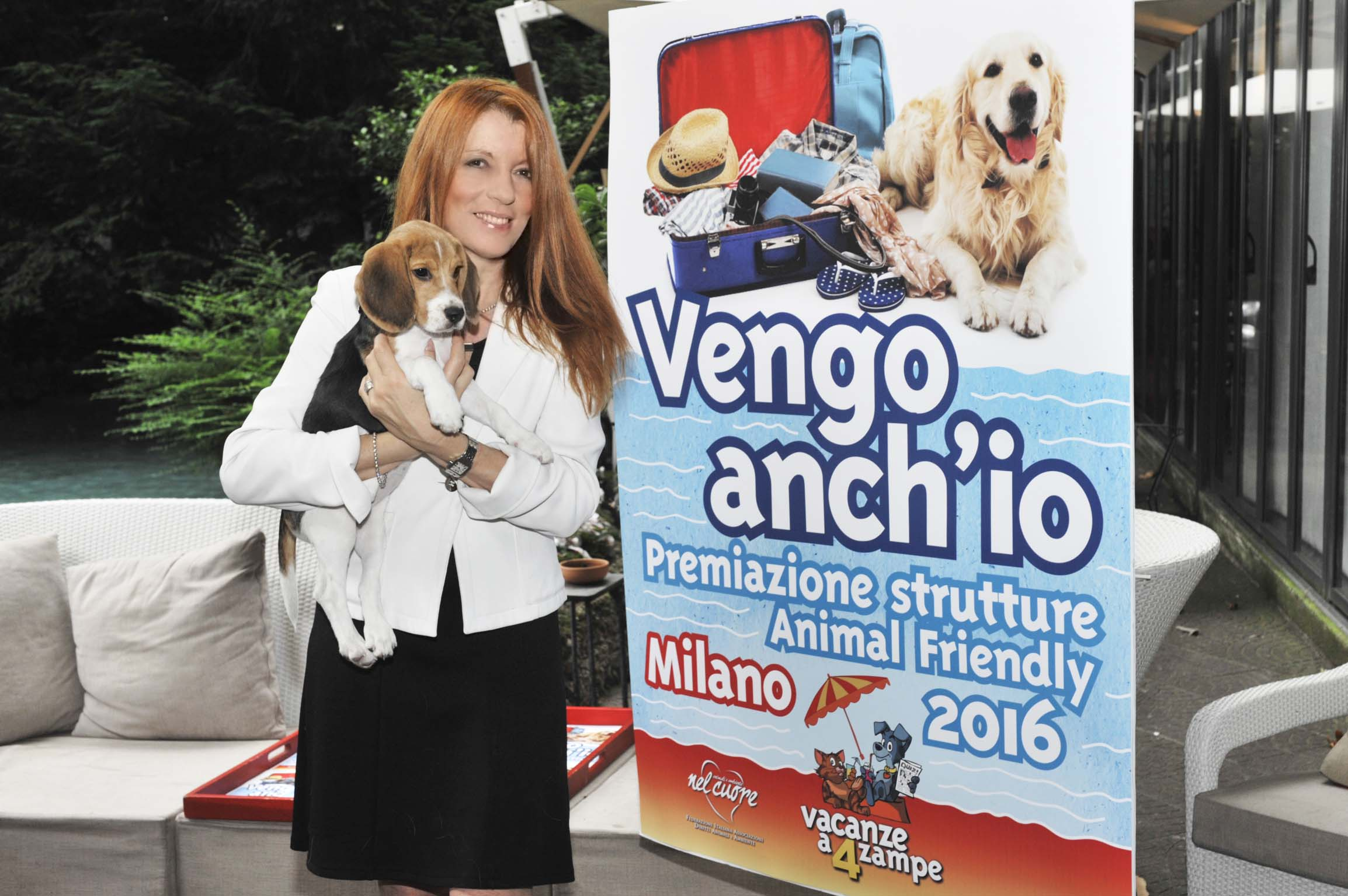 Michela Vittoria Brambilla alla premiazione delle strutture animal friendly