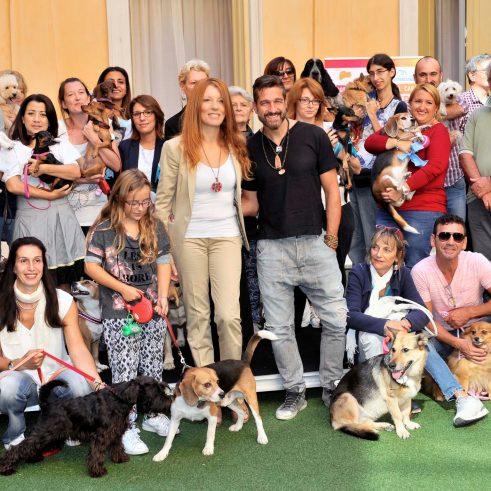 Partecipanti dog show