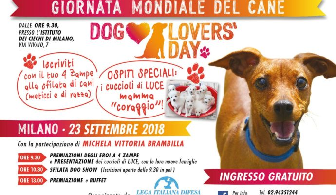 Dog Lovers - Save the Date